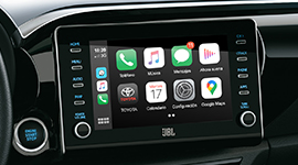 "Audio con pantalla táctil de 8"", GPS y TV digital, Android Auto® y Apple CarPlay®"